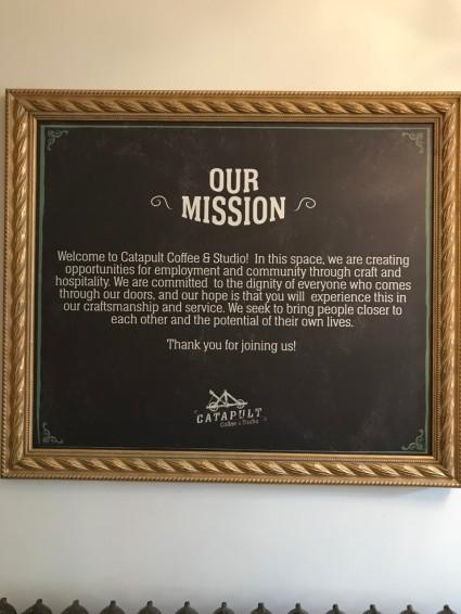 catapult cafe mission